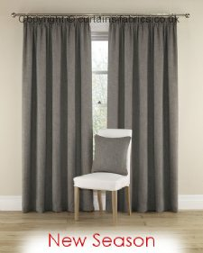 HARRISON 11 GREY ----out of stock---- fabric by MONTGOMERY INTERIORS