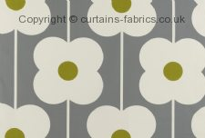 ABACUS FLOWER ORLA KIELY  fabric by ASHLEY WILDE DESIGN
