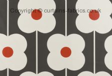 ABACUS FLOWER ORLA KIELY  made to measure curtains by ASHLEY WILDE DESIGN
