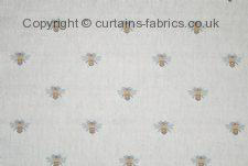 BEE fabric by CHESS DESIGNS