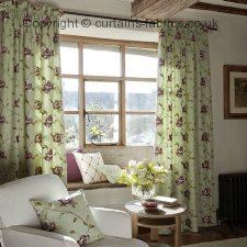 ALDERLEY F0352 fabric by CLARKE and CLARKE (Globaltex)