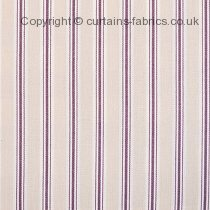 BAY STRIPE made to measure curtains by FRYETTS FABRICS