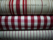 BAY STRIPE fabric by FRYETTS FABRICS