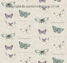 BUTTERFLIES fabric by FRYETTS FABRICS