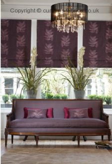 CELINE LEAF made to measure curtains by LISTER CORNICHE KESTREL