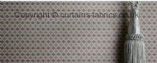 HEATON made to measure curtains by LISTER CORNICHE KESTREL