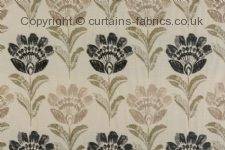 BORDEAUX made to measure curtains by PORTER & STONE