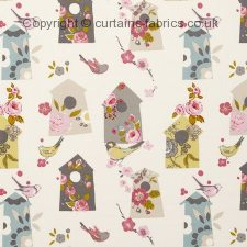 BIRDHOUSE F0635 fabric by STUDIO G