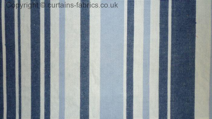 Brighton By Belfield Furnishings In Denim Curtain Fabric