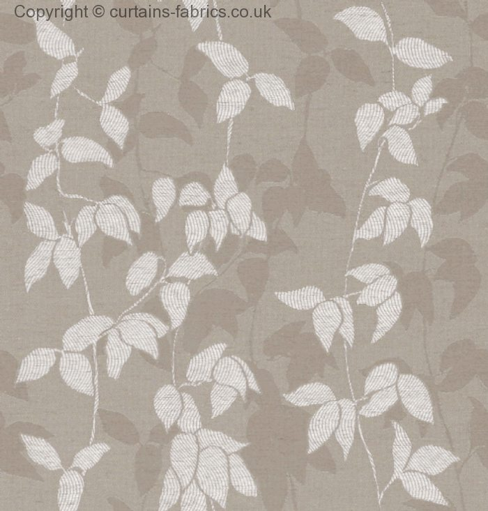 Willow By Belfield Furnishings In Taupe Curtain Fabric