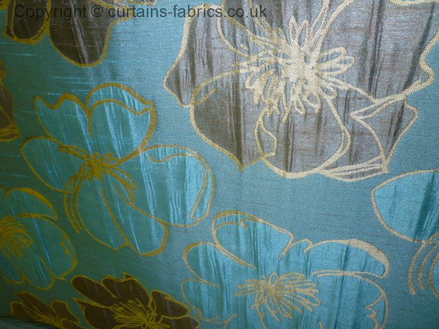 Bella By Bill Beaumont Textiles In Aqua Made To Measure