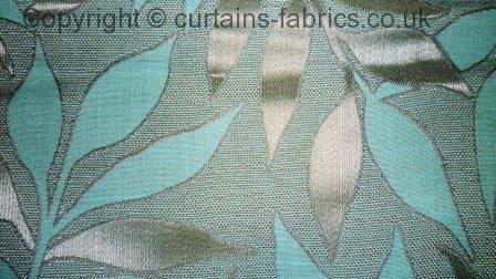 Grasmere By Chatham Glyn Fabrics In Aqua Curtain Fabric