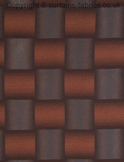 CUBIX by CURTAIN EXPRESS in COPPER made to measure curtains
