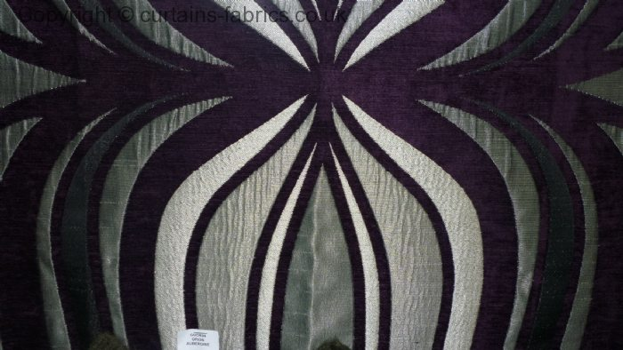 ORION by CURTAIN EXPRESS in AUBERGINE made to measure curtains