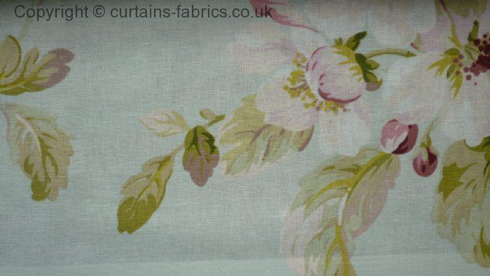 Agatha Viscose Linen By Edinburgh Weavers In Duckegg