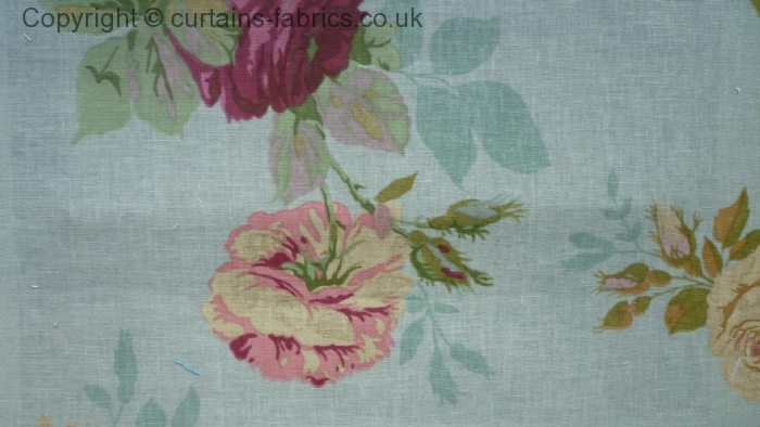 English Rose By Edinburgh Weavers In Old Blue Sold Out