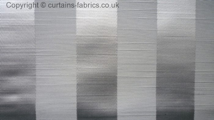 Ascot Stripe By Fryetts Fabrics In Grey Curtain Fabric