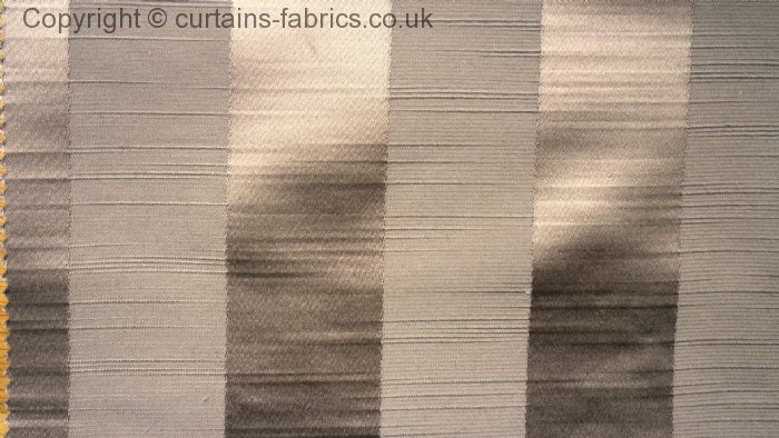 Ascot Stripe By Fryetts Fabrics In Taupe Curtain Fabric