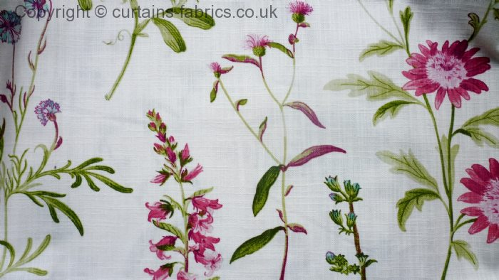 Botanical By Porter Amp Stone In Chintz Curtain Fabric