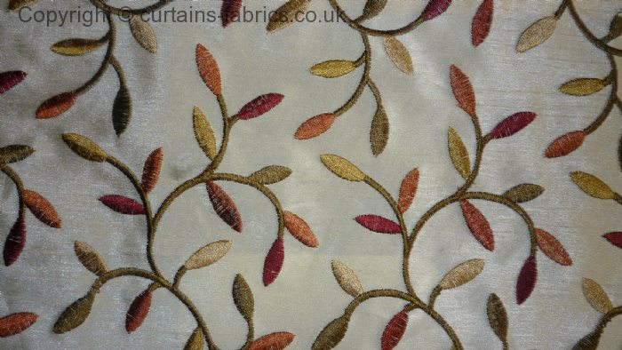 Sienna By Porter Amp Stone In Autumn Curtain Fabric