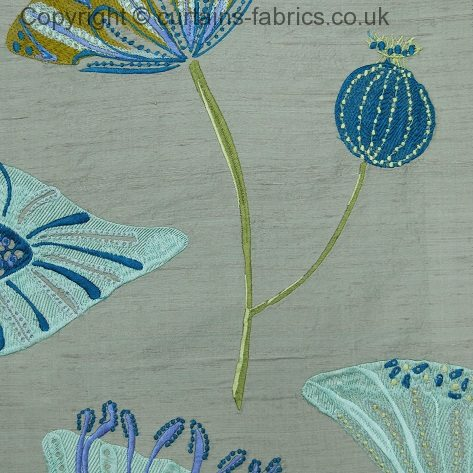 Angkor By Voyage Decoration In Coastal Curtain Fabric