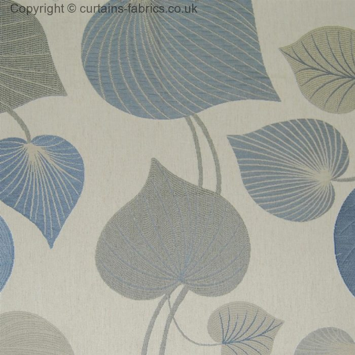 BARRINGTON By VOYAGE DECORATION In BLUEBELL Curtain Fabric