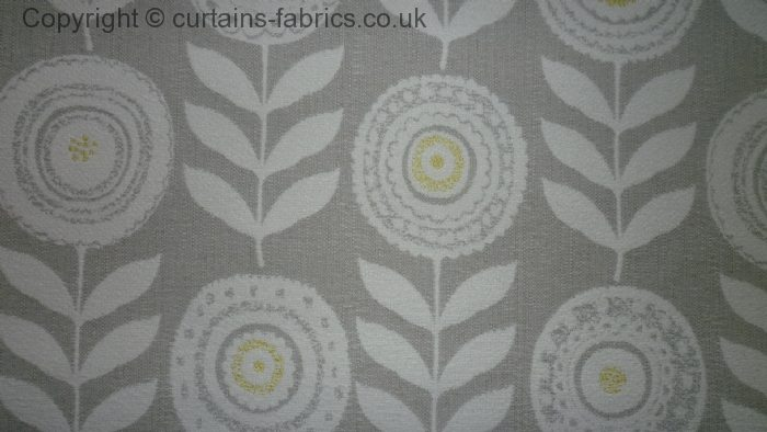 Cecilia By Voyage Decoration In Lemon Curtain Fabric