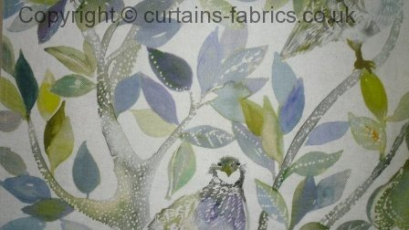 Partridge By Voyage Decoration In Winter Curtain Fabric