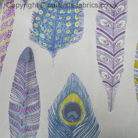 Samui Print By Voyage Decoration In Heather Curtain Fabric