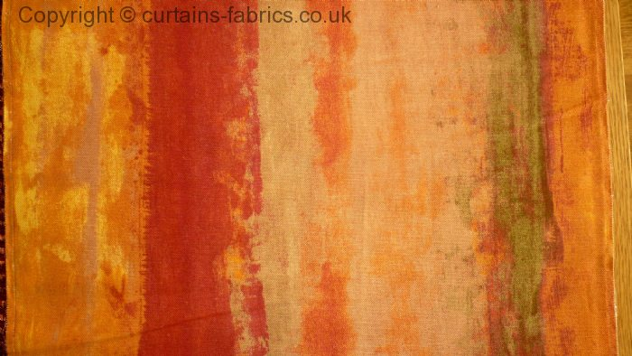 Fresco By Iliv Swatch Box In Orange Curtain Fabric