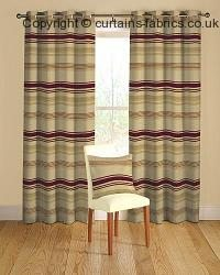 LORETTA 02 RED ----out of stock---- fabric by MONTGOMERY INTERIORS