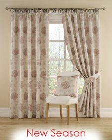 MYRA 20 ROSE ----out of stock---- fabric by MONTGOMERY INTERIORS