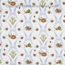 A watering can fabric by BELFIELD FURNISHINGS