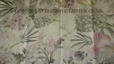 BOTANICAL made to measure curtains by BELFIELD FURNISHINGS
