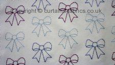 BOWS fabric by BELFIELD FURNISHINGS