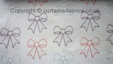BOWS made to measure curtains by BELFIELD FURNISHINGS