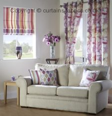 BARCELONA made to measure curtains by BILL BEAUMONT TEXTILES