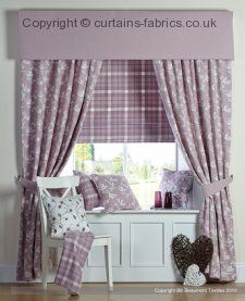 BRODIE roman blinds by BILL BEAUMONT TEXTILES