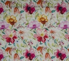 COUNTRY GARDEN made to measure curtains by CHATSWORTH FABRICS
