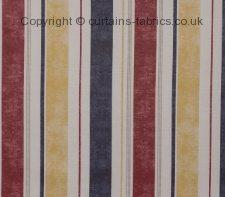 SAILBOATS STRIPE NEW fabric by CHATSWORTH FABRICS