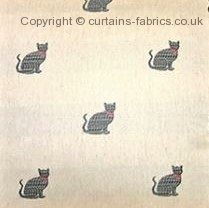 CAT made to measure curtains by CHESS DESIGNS
