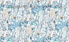 FREYA (HALF DROP REPEAT) fabric by CHESS DESIGNS