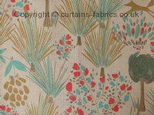 GRASSLAND fabric by CHESS DESIGNS