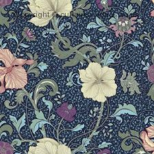 HELIGAN fabric by CHESS DESIGNS
