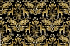 WHIPSNADE fabric by CHESS DESIGNS