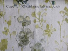 WILD FLOWER fabric by CHESS DESIGNS