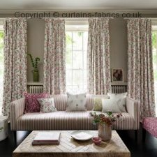 ALDERTON F1119 fabric by CLARKE and CLARKE