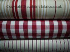 BAY STRIPE fabric by FRYETTS FABRICS