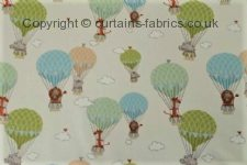 ZOO ANIMALS made to measure curtains by CURTAIN EXPRESS