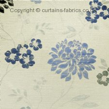 BLOSSOM WJ268 made to measure curtains by HARDY FABRICS